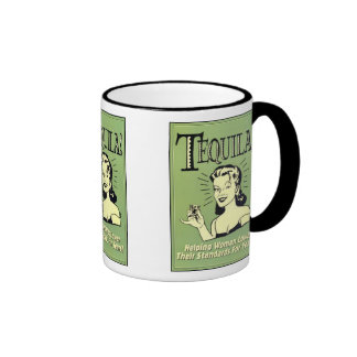 Tequila - Helping Women Lower Their Standards Ringer Mug