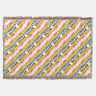 tequila killer throw blanket
