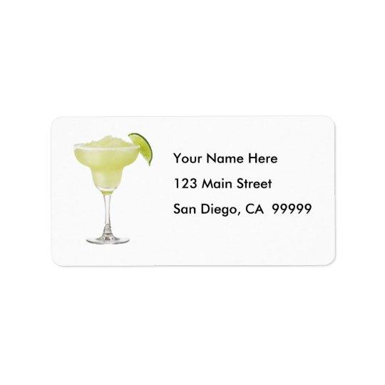 Tequila Lime Slushie Label