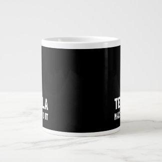 Tequila Made Me Do It Large Coffee Mug