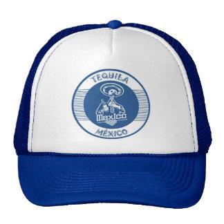 TEQUILA MÉXICO BLUE TRUCKER HATS