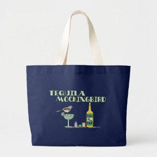 Tequila Mockingbird Large Tote Bag