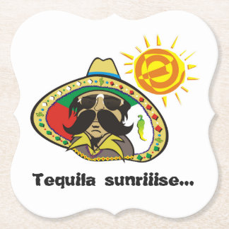 Tequila Sunriiise… Paper Coaster