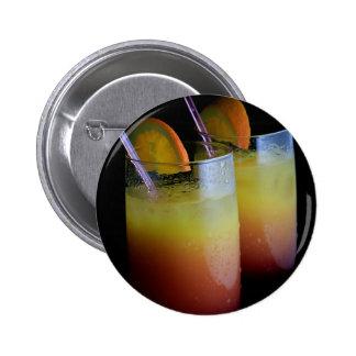 Tequila Sunrise Pinback Button