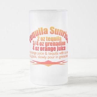 Tequila Sunrise mug - choose style & color