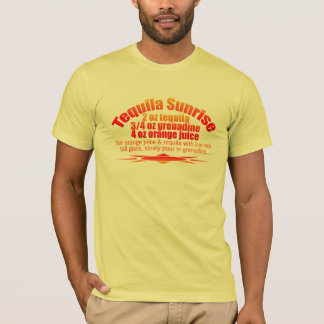 Tequila Sunrise shirt - choose style & color