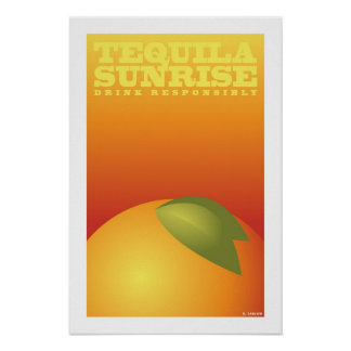 Tequila Sunrise (Small Poster) Poster