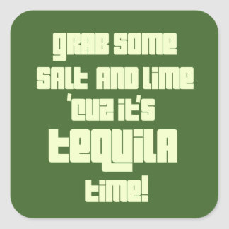 Tequila Time HHM Stickers