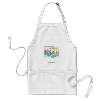 Tequila Worm Rehab Funny Cartoon Quality Apron Apron