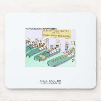 Tequila Worm Rehab Mouse Pads