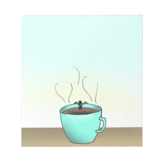 "Terence ""Coffee Time"" Note Pad"