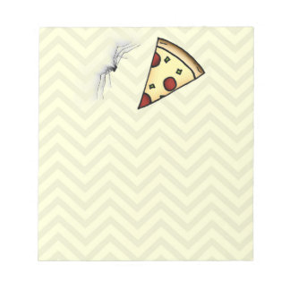 "Terence ""Pizza Time"" Note Pad"