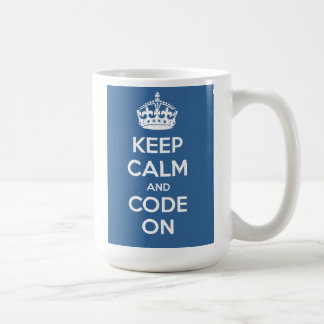 teri - code blue coffee mug
