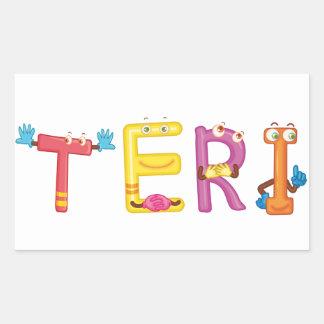 Teri Sticker