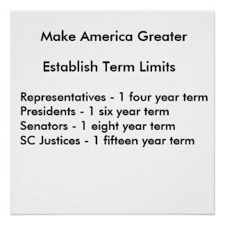 Term Limits Poster