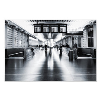 Terminal 1 photo print