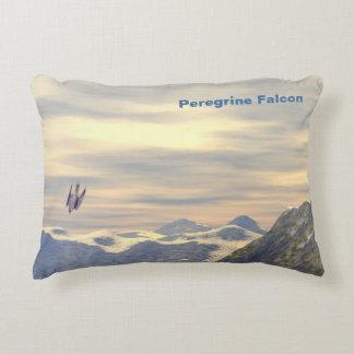 Terminal Velocity Peregrine Falcon Decorative Cushion