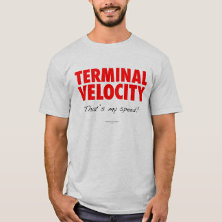 Terminal Velocity Skydiver T-Shirt