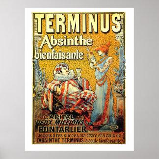 Terminus Absinthe Poster