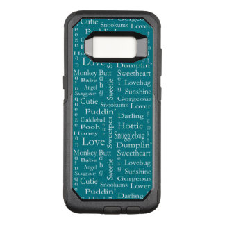 Terms of Endearment by Shirley Taylor OtterBox Commuter Samsung Galaxy S8 Case