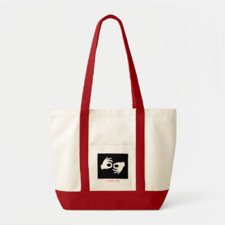 terp, I LOVE ASL Tote Bag