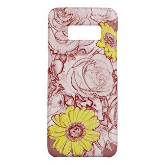 Terra Cotta Edged Bouquet Case-Mate Samsung Galaxy S8 Case