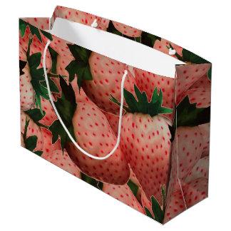 Terra Cotta Strawberries Large Gift Bag