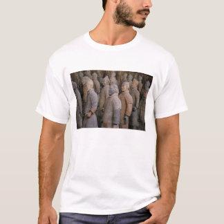 Terra Cotta warriors in Emperor Qin Shihuang's T-Shirt