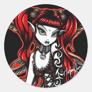 Terra Stickers Tattooed Fire Fairy