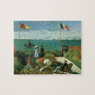 Terrace at the Seaside by Claude Monet Jigsaw Puzzle