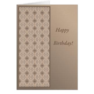 Terrace Ocean Villa Birthday Card