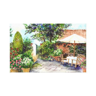 Terrace of The Manor House, York Canvas Print