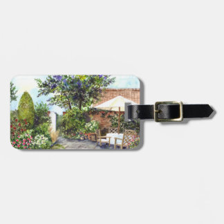 Terrace of The Manor House, York Luggage Tag