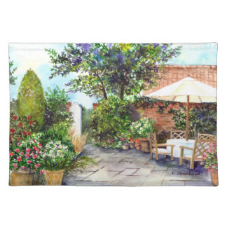Terrace of The Manor House, York Placemat