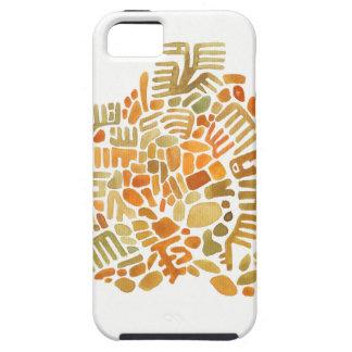 terracota creature mosaics iPhone 5 covers