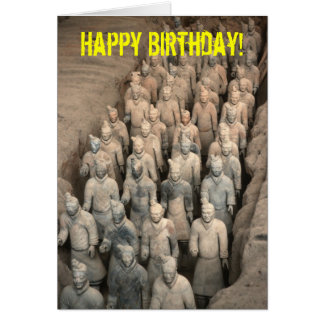 Terracotta Army Card