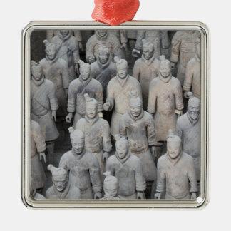 Terracotta Army Premium Square Ornament