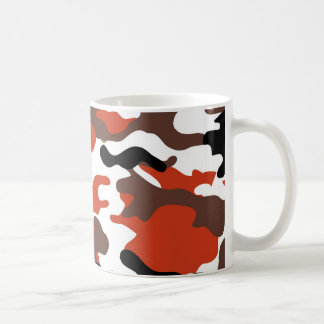 Terracotta Camo Mug