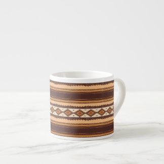 Terracotta ethnic  Espresso Mug