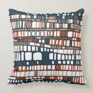 Terracotta Layers Cushion