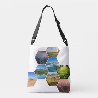 Terrain Hexes Cross Body Bag
