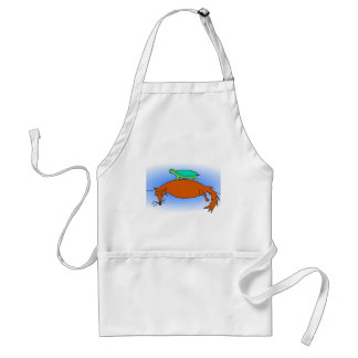 Terrapin on a fox apron