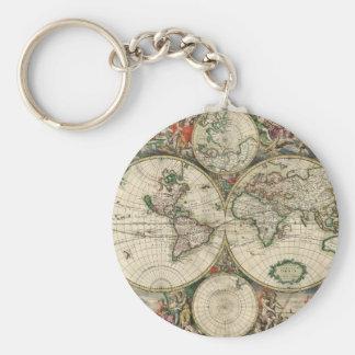 Terrarum Orbis Tabula Key Ring