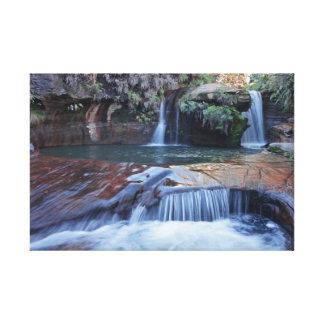 TerraSub Brazilian Landscapes - MG cascades 1 Canvas Print