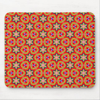 Terrazzo Flowers Mouse Pad
