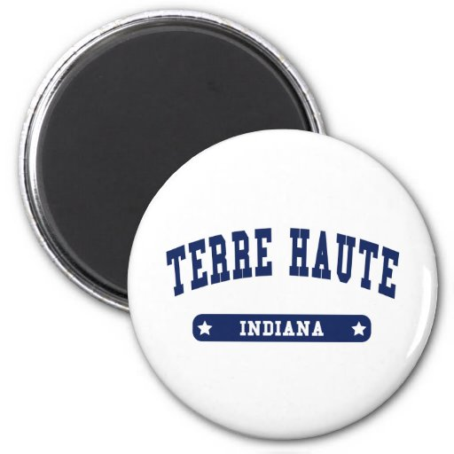 Terre Haute Indiana College Style tee shirts Fridge Magnet