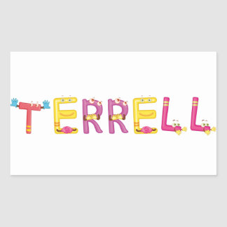Terrell Sticker