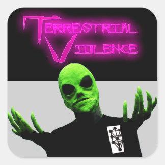 Terrestrial Violence Sticker