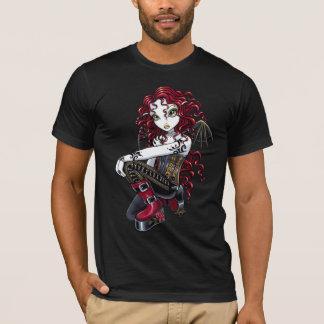 """Terri"" Gothic Red Rose Tattoo Fairy Art Top"