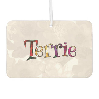 Terrie Colorful Fun Floral Air Freshener